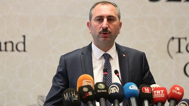 Adalet Bakanı Gül'den  'Akın İpek' açıklaması!