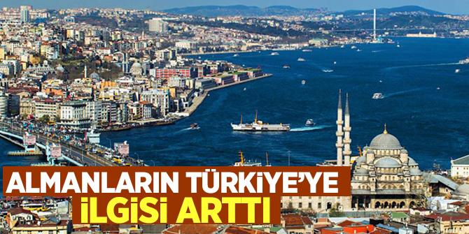 Almanların Türkiye'ye ilgisi arttı