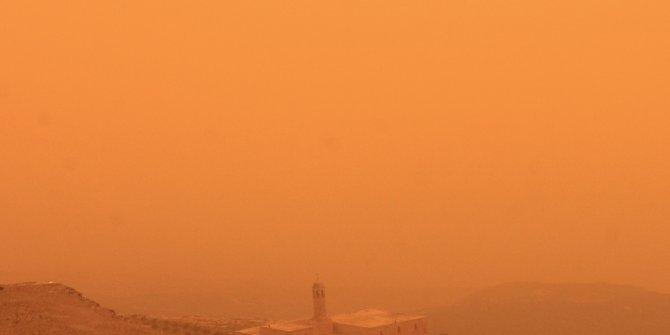Meteorlojiden toz fırtınası uyarısı
