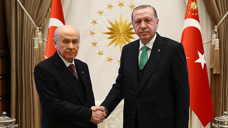 Başkan Erdoğan, Bahçeli'yi kabul edecek!