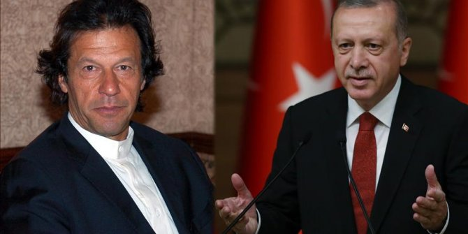 Başkan Erdoğan, İmran Han'ı tebrik etti