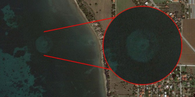 Google Earth'ta garip keşif