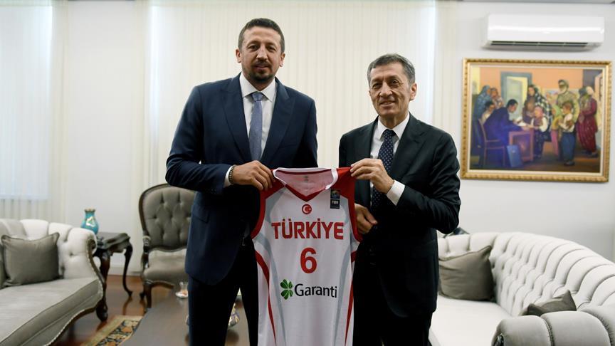 Türkoğlu'ndan, Bakan Selçuk'a ziyaret