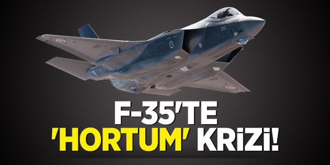 F-35'te 'hortum' krizi!