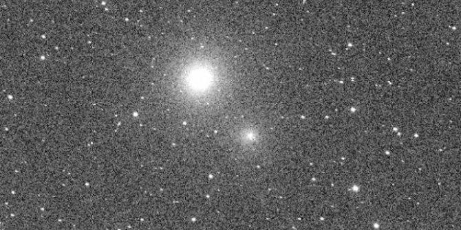TESS geçiş halindeki kuyruklu yıldızı görüntüledi