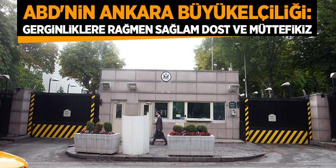 ABD'nin Ankara Büyükelçisi'nden  açıklama!
