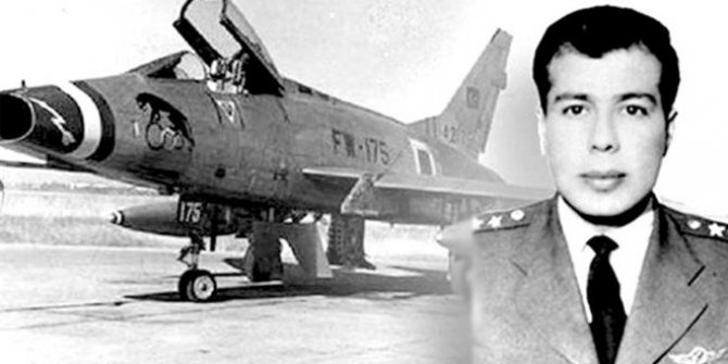 Kıbrıs'taki ilk havacı şehit: Pilot Yüzbaşı Cengiz Topel!