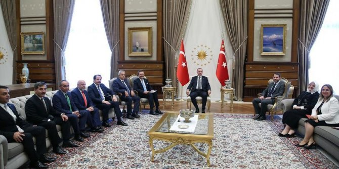 Başkan Erdoğan TOBB heyetini kabul etti