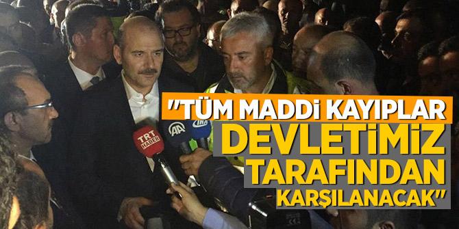Bakan Soylu Ordu'da açıkladı:  Tüm maddi kayıpları devletimiz karşılayacak