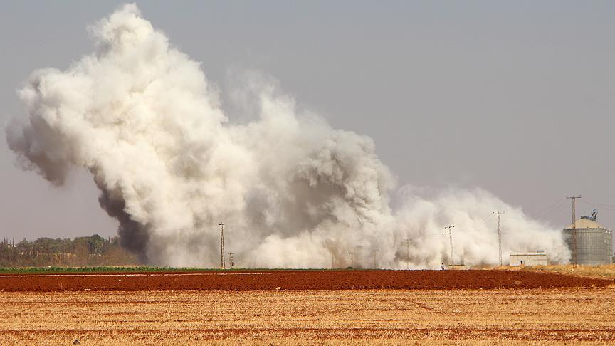 Halep'e düzenlenen hava saldırılarında 15 sivil hayatını kaybetti