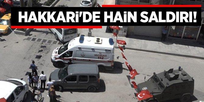 Hakkari'de hain saldırı! biri ağır 6 asker yaralandı