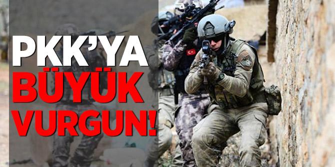 PKK'ya büyük vurgun!