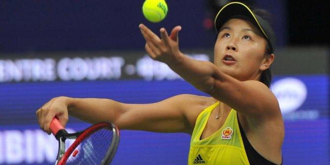 Çinli tenisçi Peng Shuaiye üç ay men 12