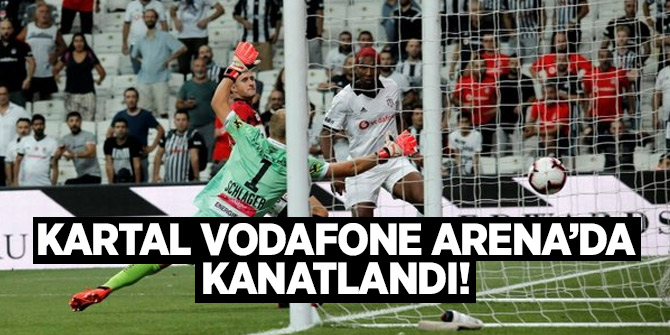Kartal Vodafone Arena'da kanatlandı!