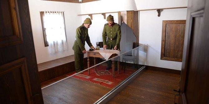 """Kültür ve Turizm Bakanı Ersoy, """"Atatürk Evi Müzesi""""nin açılışını yaptı"""