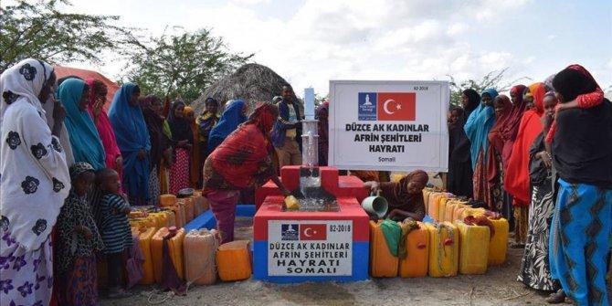 Ak Parti Kadın Kollarından, Somali'ye su kuyusu