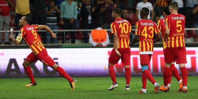 Kayserispor-Antalyaspor karşılaşmasında kazanan ev sahibi oldu!