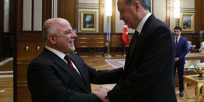 Erdoğan Haydar el-İbadi'yi kabul etti!