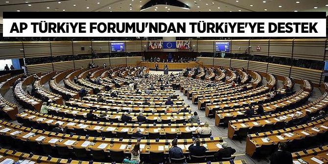 AP Türkiye Forumu'ndan Türkiye'ye kritik destek geldi