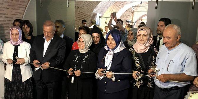 '10. Osmanlı'dan Günümüze Nakış Sergisi' açıldı