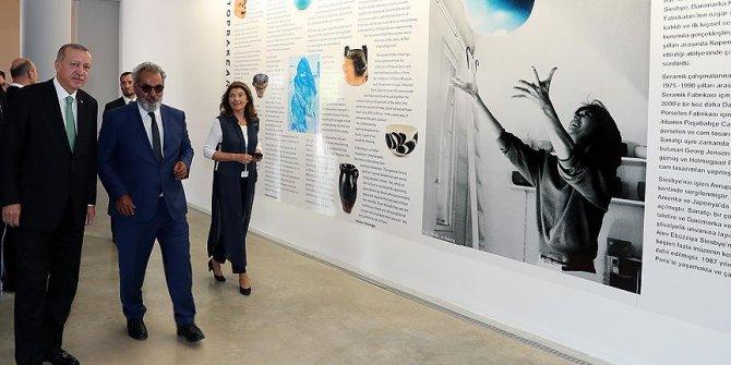 Cumhurbaşkanı Erdoğan'ı Baksı Müzesi'ni ziyaret etti