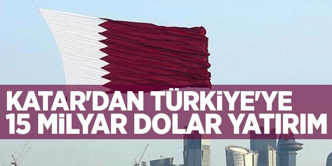 Katar Emiri'nden 15 milyar dolar destek!