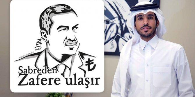 Katarlı ressamdan 'Erdoğan portreli'