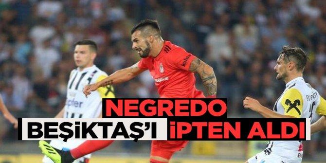 Son dakika golü Beşiktaş'ı kurtardı! Play-off'a yükseldi