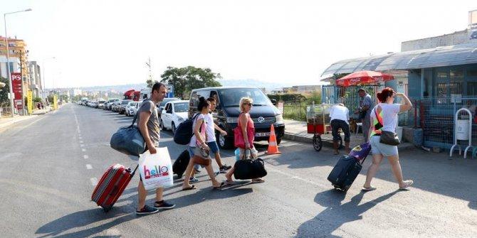 Bayram heyecanı başladı! Tekirdağ Limanı'nda tatil yoğunluğu