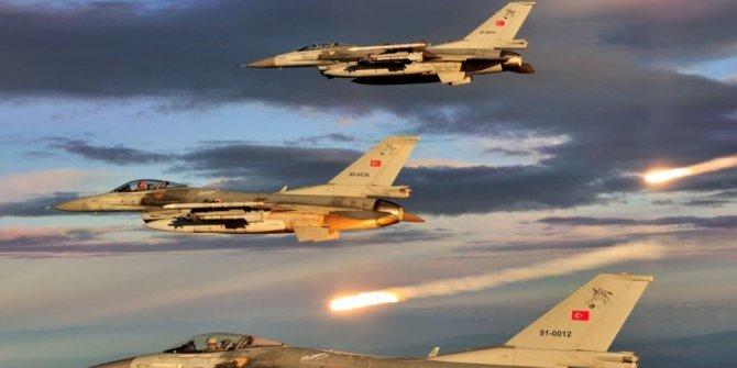 Hakurk, Zap ve Gara bölgelerine hava harekatı 7 terörist etkisiz hale getirildi!