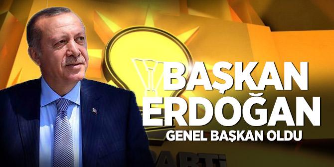 Son Dakika! Başkan Erdoğan 1380 Oyla Yeniden Genel Başkan Oldu!