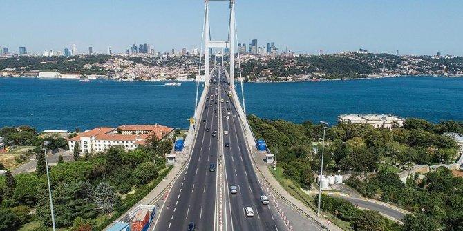 Bayram tatili İstanbul trafiğini rahatlattı!