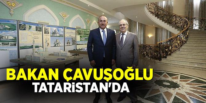 Bakan Çavuşoğlu Tataristan'da