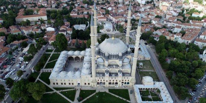 Selimiye Camiinde bayram coşkusu
