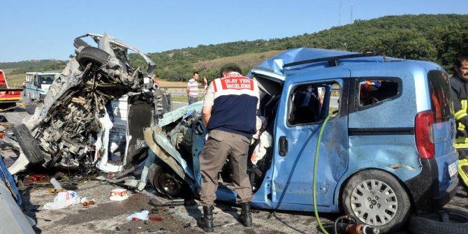 Tatil kazalarında 132 kişi hayatını kaybetti