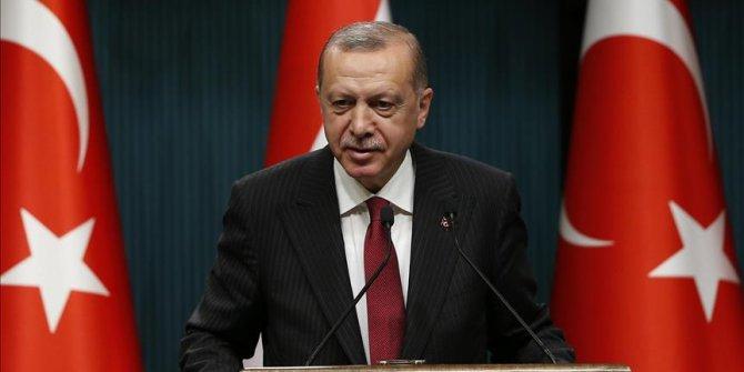 Başkan Erdoğan, Kütahya'nın kurtuluş yıl dönümünü kutladı