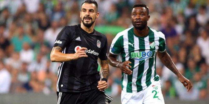 Beşiktaş Deplasmanda Bursaspor'la 1-1 Berabere Kaldı