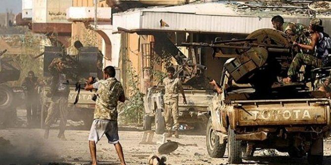 Libya'nın başkenti Trablus'ta  çatışmalarda 41 kişi öldü