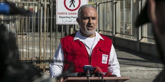 Türk Kızılayı Genel Başkanı Kınık: 'Suriye'nin kuzeyinde bir dizi tedbir aldık'