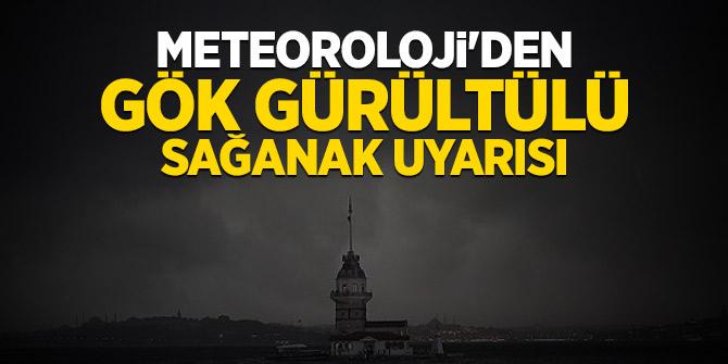 Son dakika...Meteoroloji'den İstanbul için uyarı