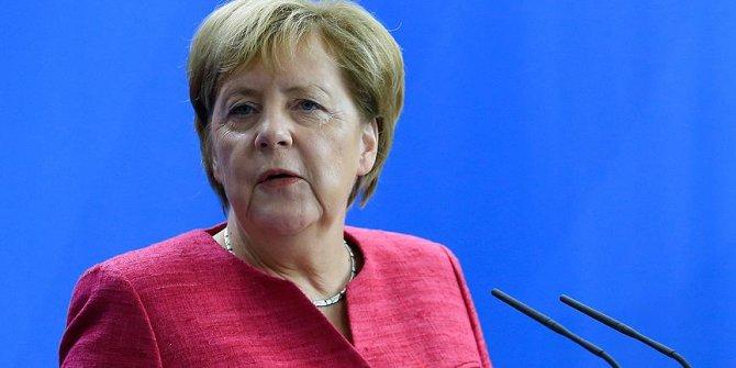 """Merkel'den Türkiye açıklaması! """"İki ülke özel bağ ile birbirine bağlı"""""""