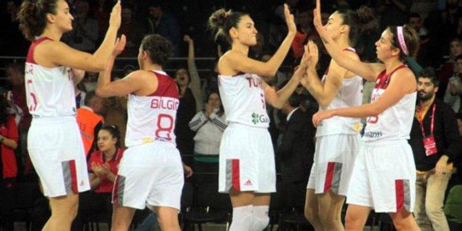 A Milli Kadın Takımı, deplasmanda Belçika'yı 64-60 yendi!..
