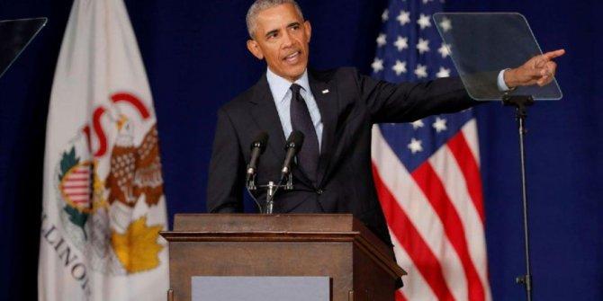 Obama: 2020'nin Amerikası'nda ayrımcılık normal olmamalı, olamaz