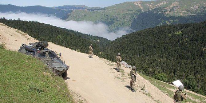 Karadeniz'de 1 terörist etkisiz hale getirildi!