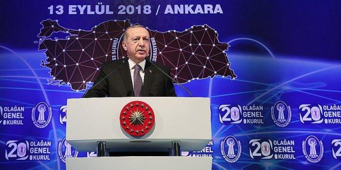 Başkan Erdoğan:  Faiz sebeptir enflasyon neticedir