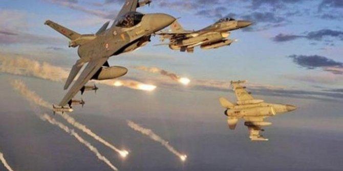 Zap bölgesine yönelik hava harekatında dört terörist etkisiz hale getirildi!