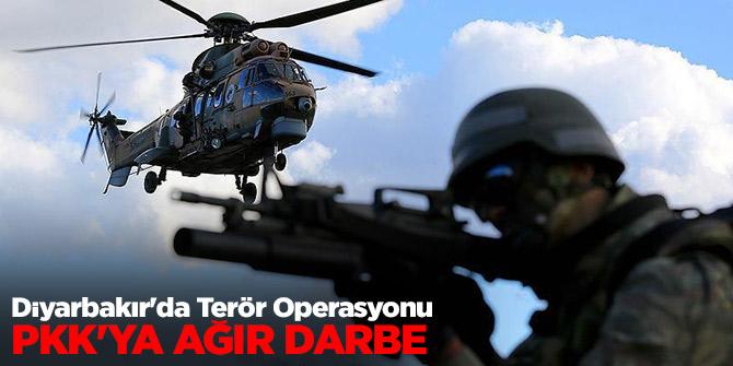 Diyarbakır'da Terör Operasyonu: PKK'ya ağır darbe...