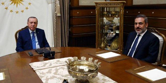 Cumhurbaşkanlığı Külliyesi'nde kritik toplantı: 1.5 saat sürdü