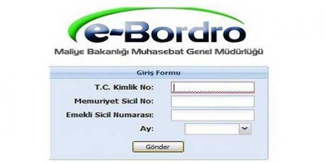 e-Bordro Sorgulama işlemi nasıl yapılır?