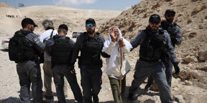 İsrail güvenlik güçleri Filistinlilere saldırdı!